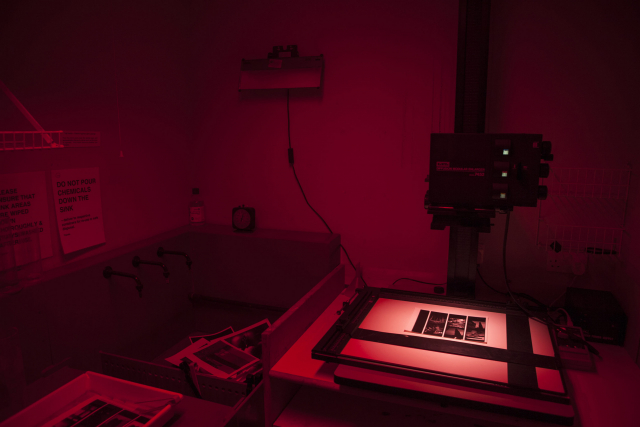 Private darkroom